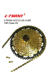 Image 5 - LTWOO Groupset AT12 Speed Shifter Lever Rear Derailleur Cassette 11 50T 52T, 12S YBN 18A Chain, EAGLE GX / M9100, Golden