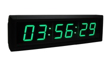 [GANXIN] 1.8″  Green Portable Digital Countdown Timer Clock Large LED Screen Alarm for office With Remote