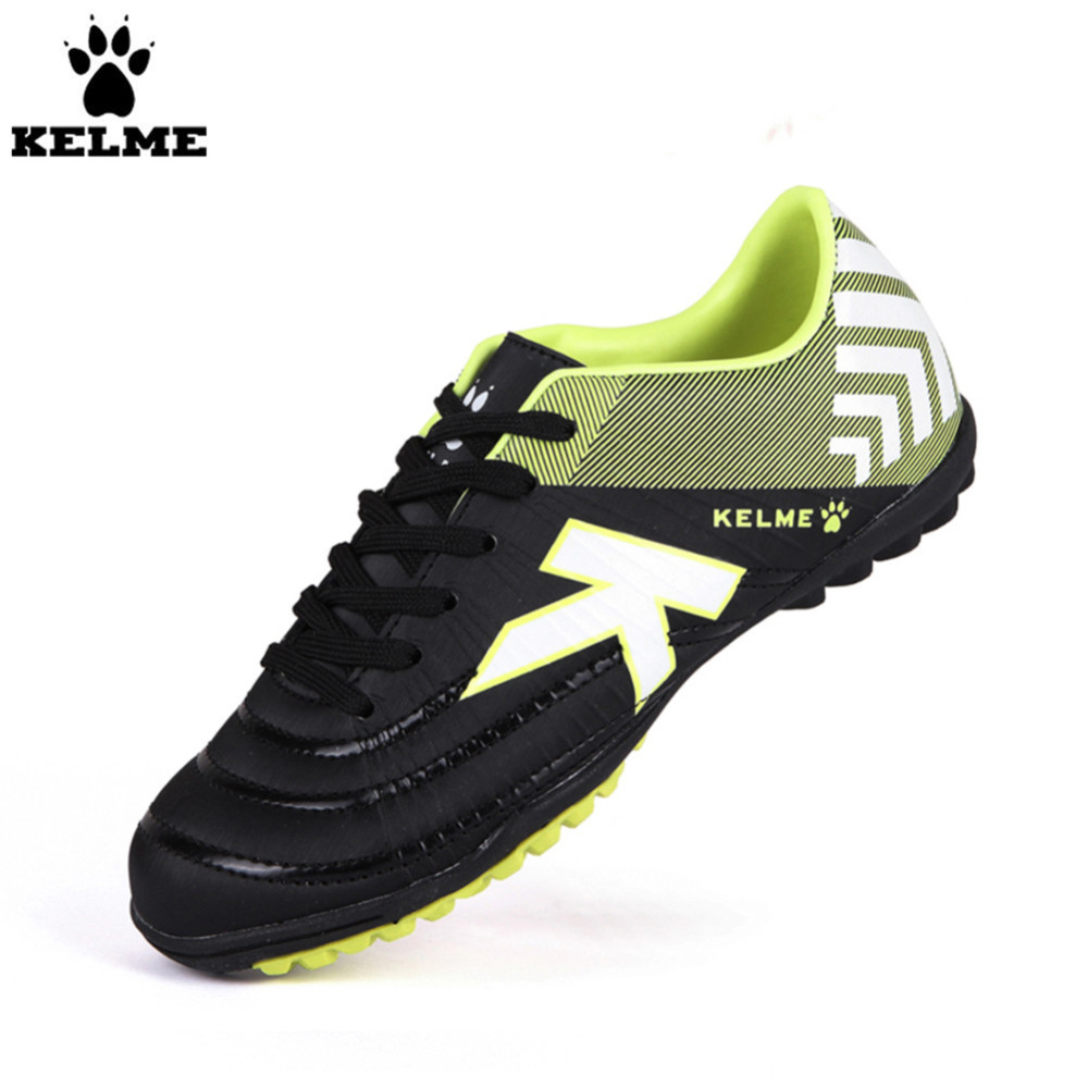 2016 KELME Football Boots Broken Nail Kids Skid Wearable Shoes Breathable health top soccer shoes kids football boots cleats futsal shoes adult child crushed breathable sport football shoes plus 36 45