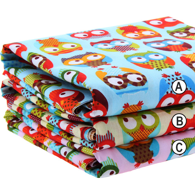 Online Shop Cotton Fabric Printed Fabrics Patchwork For Sewing ...