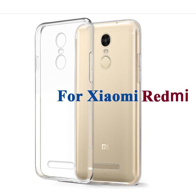 Ясно Мягкий гель ТПУ чехол для Xiaomi Redmi 1 2 3 4A 4 3X 4X Pro премьер Примечание 2 3 4 4x32 ГБ 64 ГБ ультра тонкий корпус кожа Защитная крышка