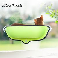 Cat Window Bed Seat Perch Kitty Mounted Pet Hanging Shelf Seat with Suction Cup Arena Para Gatos Con Ventosa