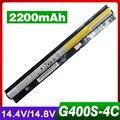 2200 mah bateria do portátil para lenovo z710 g400s g505s s410p l12m4e01 l12l4e01