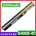 2200mAh Laptop Battery For Lenovo Z710  G400s G505s S410p L12L4E01 L12M4E01