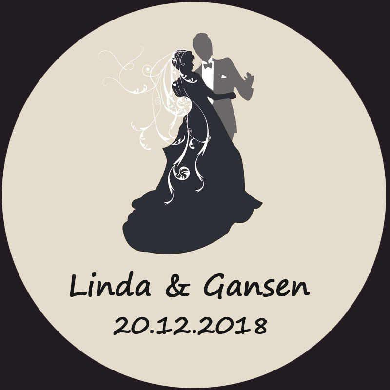100pcs Custom Sticker And Customized Logo Wedding Stickers Design Your Own Stickers Personalized Stickers Boda