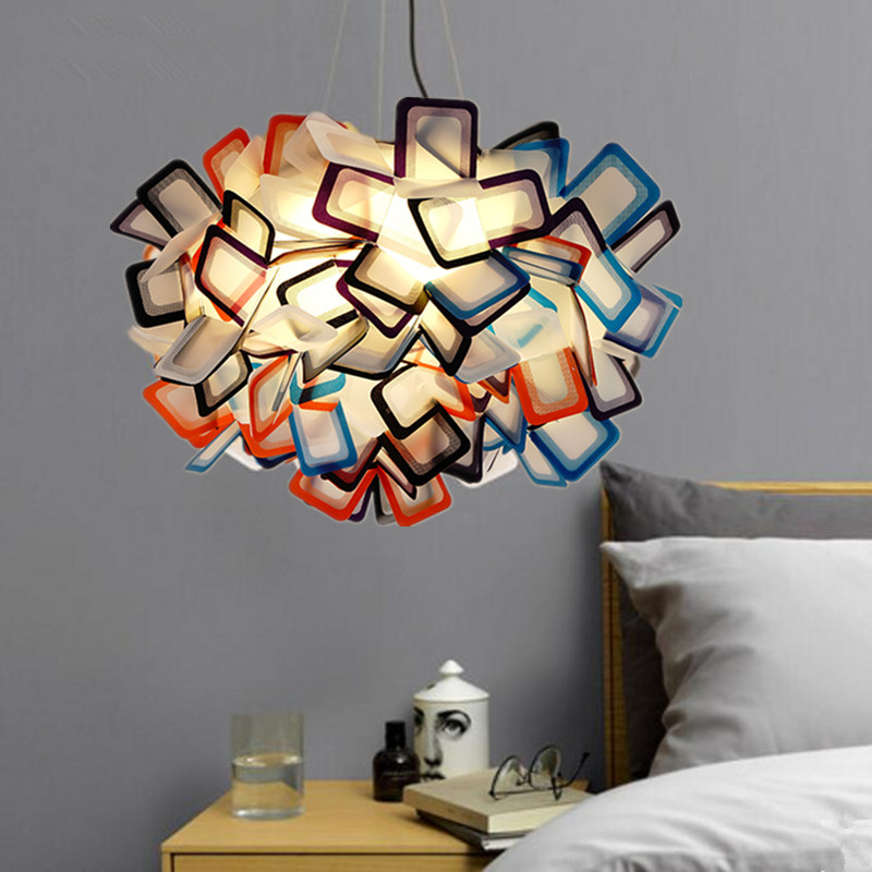 Modern Nordic pendant light PVC indoor light colorful LED living dining bedroom hanging lamp Bar vintage Nordic light fixtureModern Nordic pendant light PVC indoor light colorful LED living dining bedroom hanging lamp Bar vintage Nordic light fixture