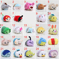 7-9cm Tsum Tsum Plush toy doll Duck toys Cute doll Screen Cleaner Mermaid mini toy keychain Free Shipping