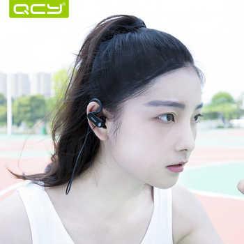 QCY QY31 IPX4 sweatproof headphones Bluetooth 4.1 wireless sports headset aptx stereo earphones with MIC