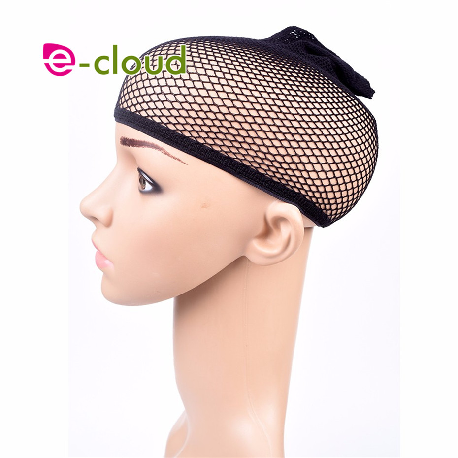 3pcs/bag Top Sale Hairnets good Quality Mesh Weaving Black Wig Hair Net Making Caps Weaving Wig Cap & Hairnets
