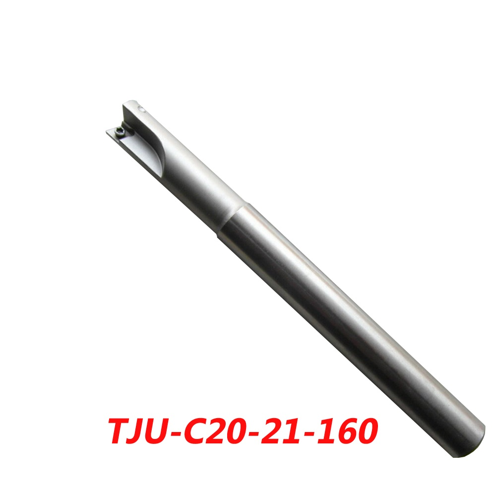 TJU-C20-21-160 Indexable Drilling And Milling Cutter Arbor For CCMT060204+CPMT090204Z Carbide Insert