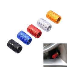 4pcs/set Car 3D Wheel Tires Valve Caps Accessories Aluminum Auto Motorcycle Airtight Stem Air Caps For renault for ford for bmw