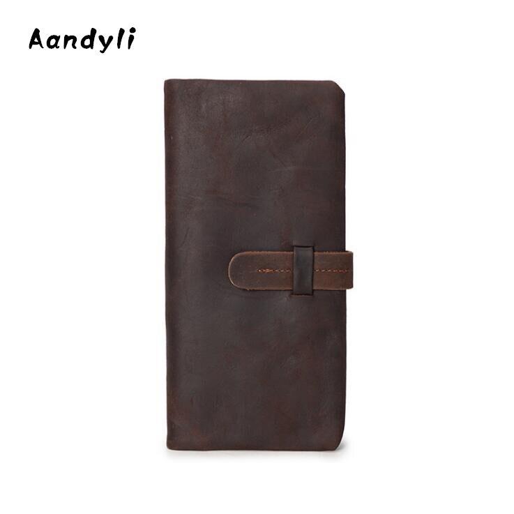 Пояса из натуральной кожи Для мужчин кошельки экраны Для женщин кошелек ручная сумка портмоне, бумажники, держатели доллар