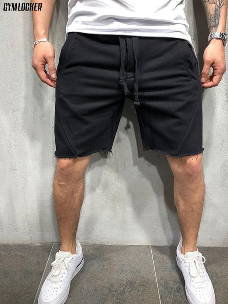 GYMLOCKER Summer Quick-drying Shorts Men's Jogging Short Pants Casual Fitness Streetwear Men Shorts Justin Bieber Short Homme
