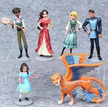 6pcs lot 9 5cm anime Elena of Avalor PVC Action figure doll toys for kids christmas