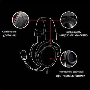 Image 3 - Kingston Gaming Headset HyperX Cloud Core Headphones With a microphone Hi Fi Auriculares For PC PS4 Xbox Mobile devices