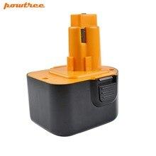 Powtree для Black & Decker Firestorm 12 в 3000 мАч PS130 мощность инструмент батарея Сменные PS130A A9275 A9252 HP331 HP331K-2 HP331K2