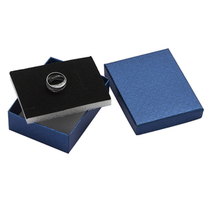 Image 3 - 24pcs Jewelry Box 7*9*3cm Jewelry Sets Display Box Multi Colors Ring Box Necklace Packaging Earrings Gift Box Black Sponge