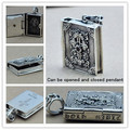 Hot Sale 100% Real Pure 925 Sterling Silver pendant Men and Women jewelry Bible box Pendant purify soul genuine fashion men HP10