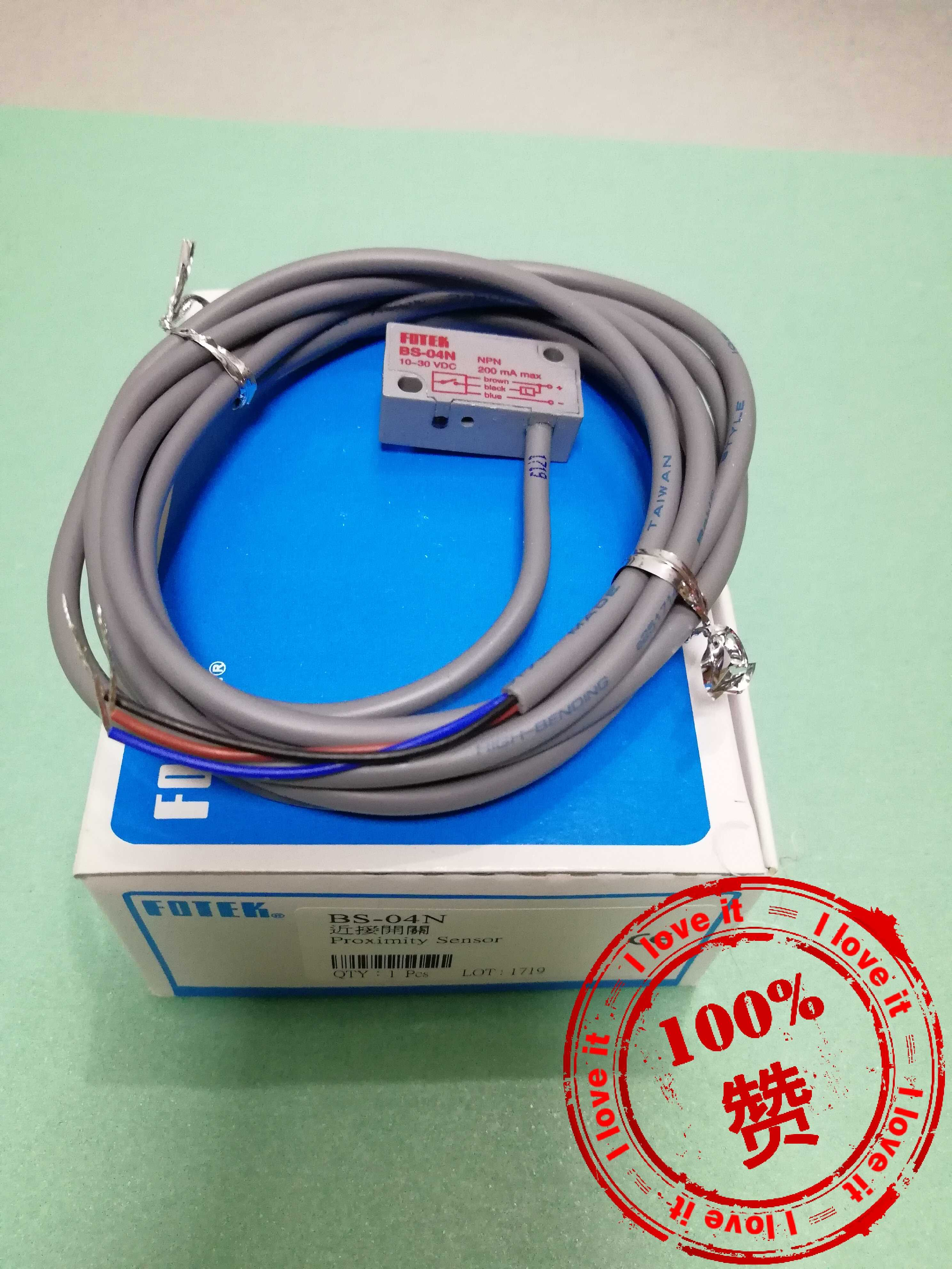 Inductive Proximity Switch BS-04N Original Electromechanical Fake Penalty 10