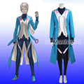 Pokemon Go Blanche Costume Pokemon Pocket Monster Team Mystic Blanche Cosplay Costume Blue Leader Uniform Christmas Party Adult