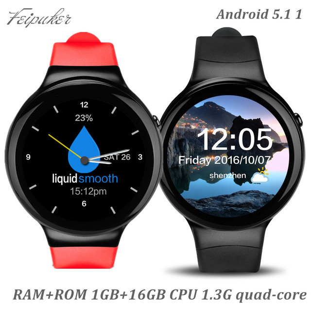 2017 feipuker i4 smart watch android 5.1 1.39 дюймов amoled дисплей 1 ГБ RAM 16 ГБ ROM поддержка 3 Г Wi-Fi GPS Часы Телефон PK kw88 S99A