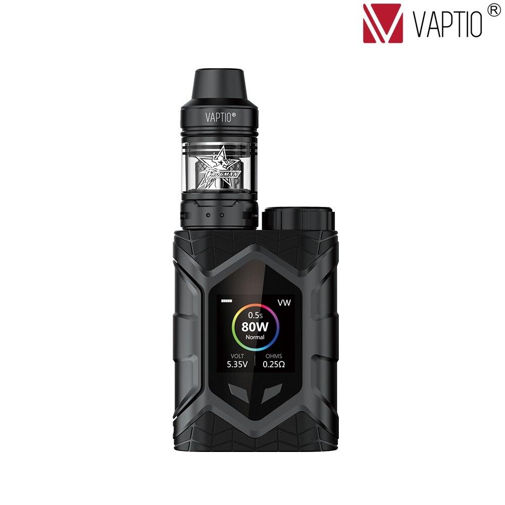 Vaptio Wall Crawler Vape KIT 2.0/5.0ML 80W Resistance 0.05/2ohm E Cigarette TCR 1.3inch TFT Screen fit TFV8tank