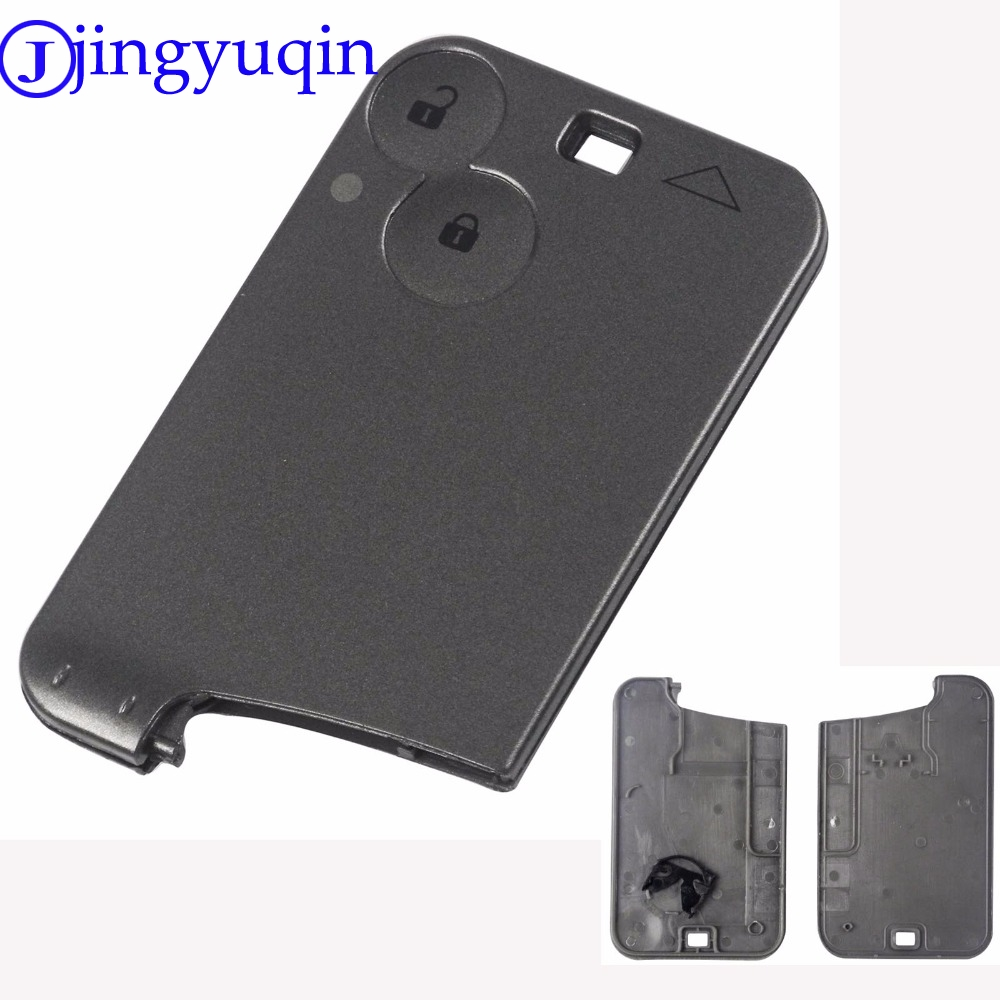 jingyuqin 2 Buttons Remote Smart Card Replace The Protective Key Shell Casing Cover For Renault Lagunajingyuqin 2 Buttons Remote Smart Card Replace The Protective Key Shell Casing Cover For Renault Laguna