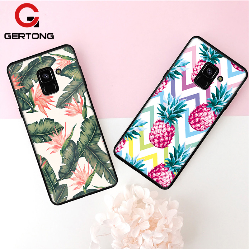 Soft TPU Pattern Case For Samsung Galaxy S9 S8 A8 Plus 2018 A7 A5 A3 2017 J5 J7 J3 2016 J2 Pro S7 S6 Edge Note 8 Cover Cases купить недорого в Москве