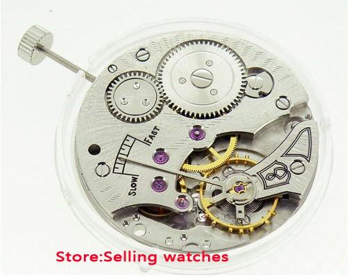 17 Jewels 6498 mechanical hand winding mens watch movement