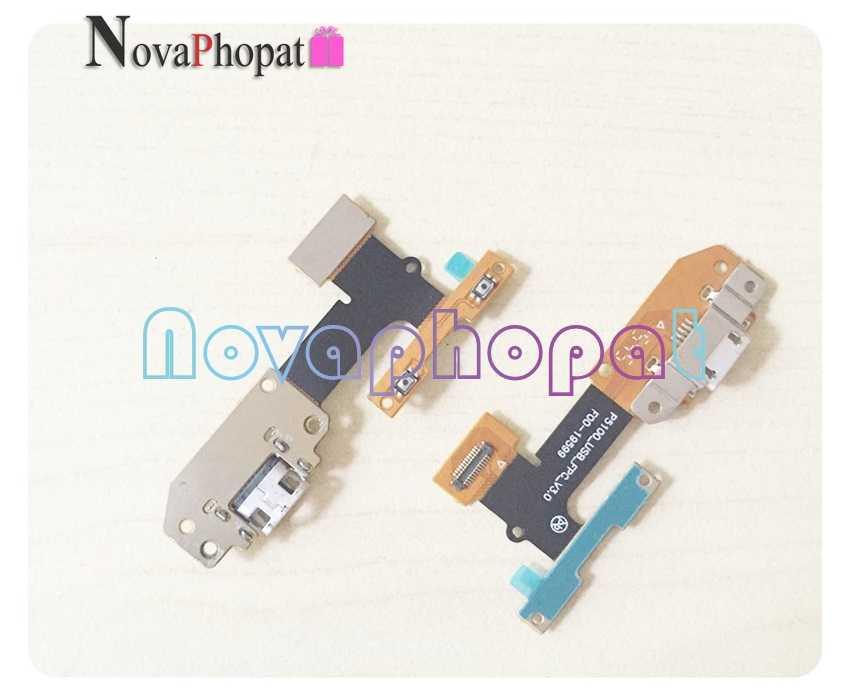 Novaphopat para lenovo yoga tab 3 YT3-X50L p5100_usb_fpc_v3.0 micro porto de carregamento conector doca usb carregador conectar cabo flexível