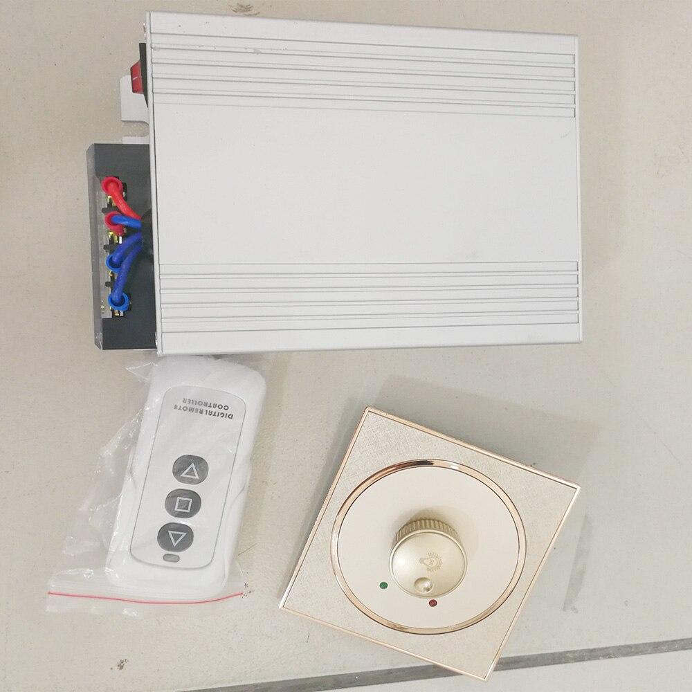 Pellicola intelligente Remoto Di alimentazione/Interruttore Manopola di controllo Dimmer
