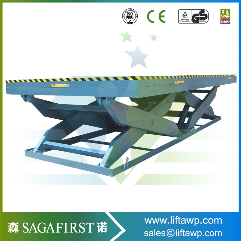2ton Wood Roller Lift Conveyor Tables