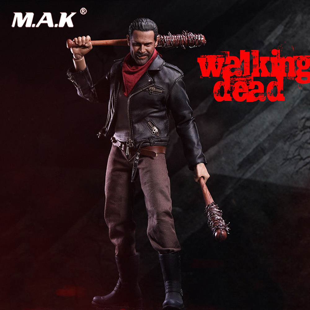 Pour Collection ZCTOYS 1/6 echelle la marche morte Negan 12 ''figurine ensemble Collection