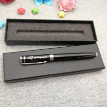 Put your name text Free on pen body or cap boss wanted heavy writing nice quality with box unique birthday gift