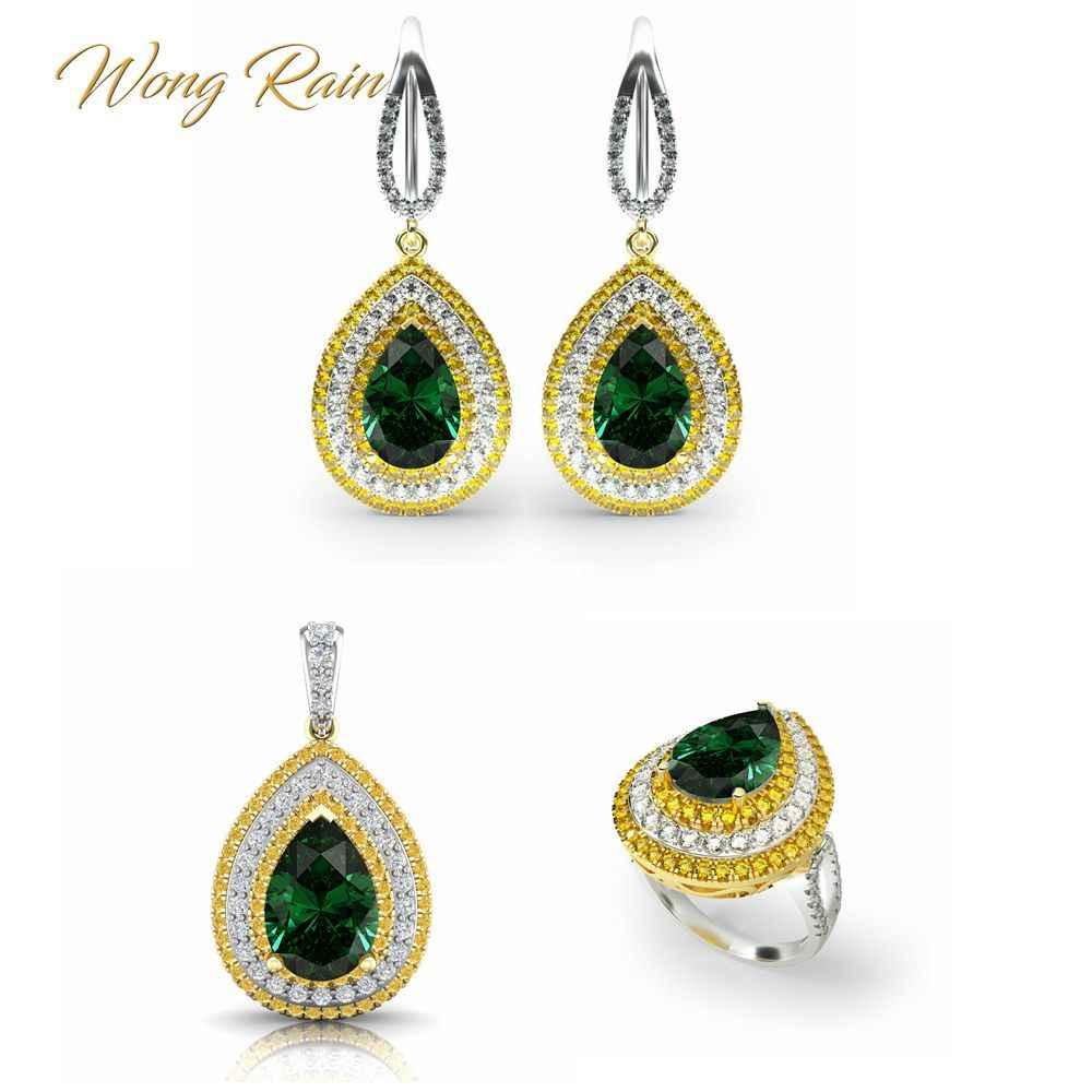Traditional Design Emerald Gemstone Pendant 925 Sterling Silver Handmade Pendant Victorian Jewelry Fine Pendant woman Gift