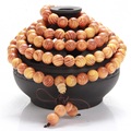 108 Indonesia Blood Dragon Wood 108 Prayer Beads Bracelet Buddhist Buddha Mala Meditation Prayer Bead Men And Women Jewelry