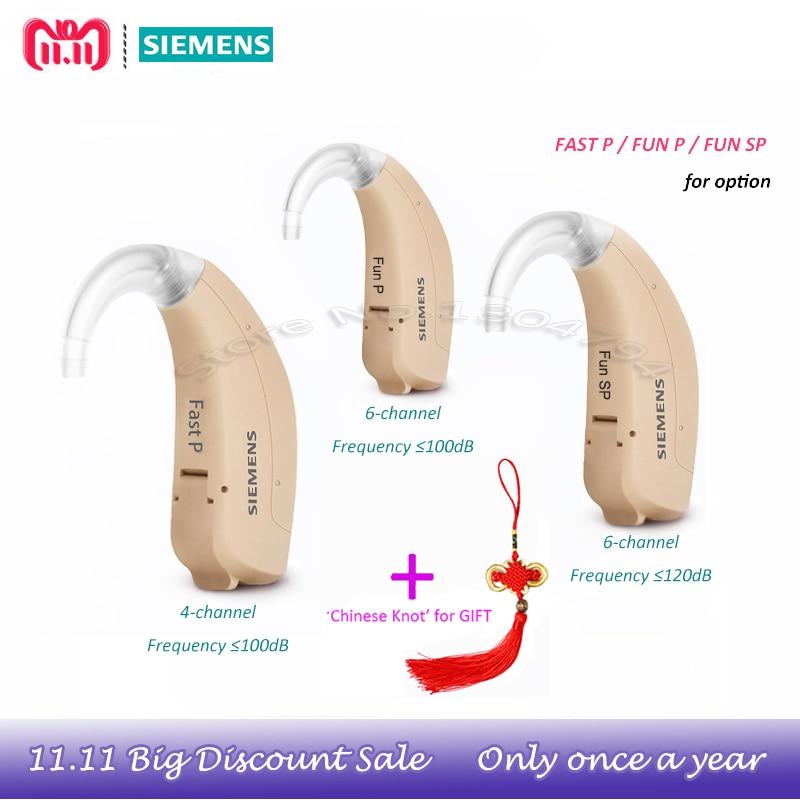2018New ORGINAL SIEMENS FAST P FUN P FUN SP Digital BTE Hearing aid aids UPDATED lotus