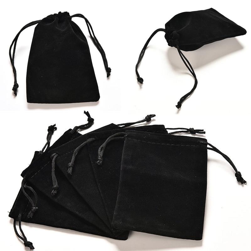 2 шт. бархатная сумка, упаковка ювелирных изделий, бархатные мешочки с кулиской, подарочные сумки 12 см x 9 см|Упаковка и стойки для украшений|   | АлиЭкспресс
