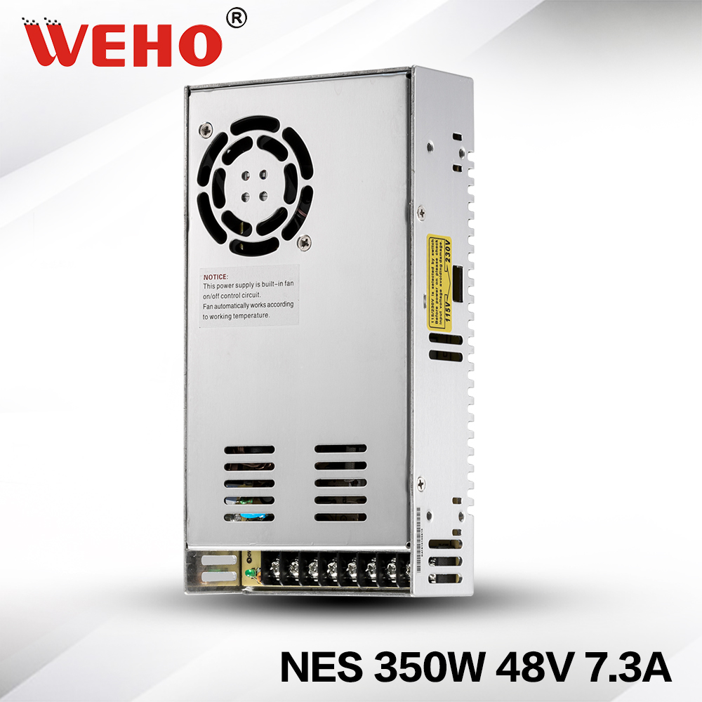 (NES-350-48)2 years warranty 350w 48volt power supply with ce rohs high quality 2 years warranty 350w 48v 7 3a power supply