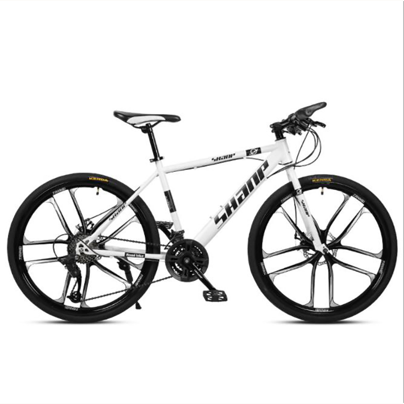 Mountain Bike Adult Men And Women 26 Inch 21 Speed Double Disc Brake High Carbon Steel Frame Cross-country Bicycle
