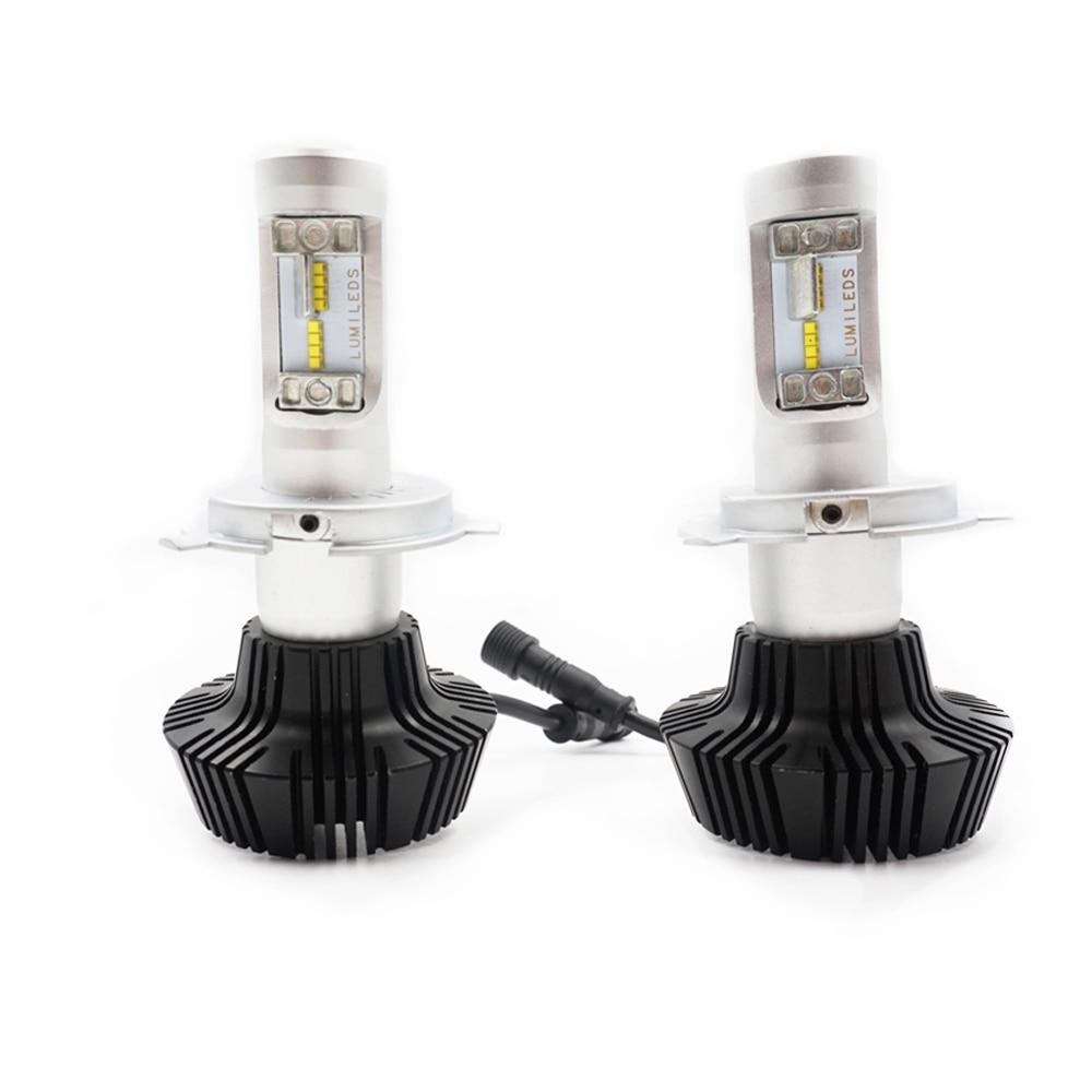 CROSSTIGER K6 Car Headlight Conversion Kit 880 H1 H3 H11 9005 9006 H7 H4 LED Bulb Fog Light Replacement Lamp 6500k 16000Lm isincer led h4 h7 h11 cob led car headlight bulb kit 110w 16000lm h1 h13 9005 9006 6500k 12v led automobile headlamp front light