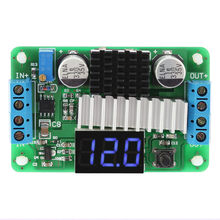 Digital DC-DC 3.5-30V 100W Boost Step-up Module Converter Power Supply Module LED Voltmeter Display(China)