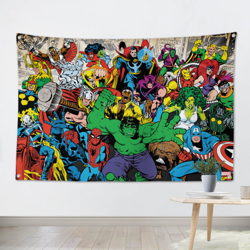 Personalized//Customized The Avengers Name Poster Wall Art Decoration Banner