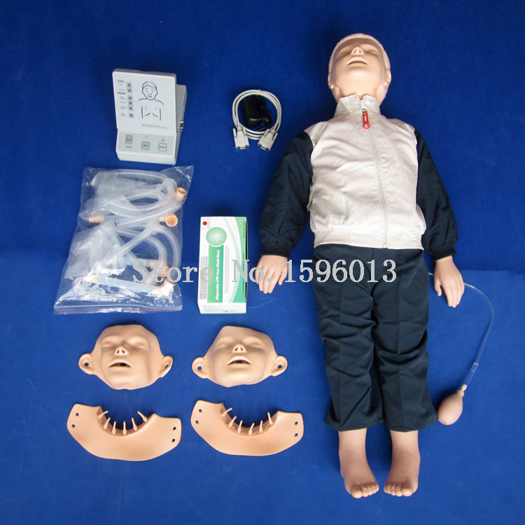 Advanced Child CPR Training Manikin,First Aid manikin model,Baby/Child CPR Manikin nursing baby child nursing manikin baby model infant first aid manikin full functional child nursing manikin gasen psm0023