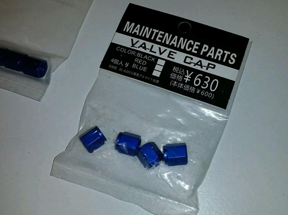 4 VOLK RACING gumiabroncs szelepcső kupakkal kovácsolt alumínium - Autóalkatrész - Fénykép 3