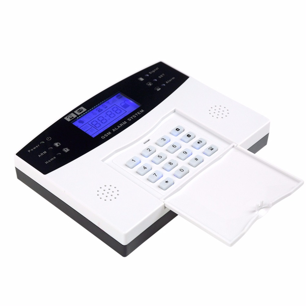 BA-8006-GSM Home Security GSM Alarm System Alarm Host with LCD Call for Intruder Burglar 8 Wired And 99 Wireless Defense ZonesBA-8006-GSM Home Security GSM Alarm System Alarm Host with LCD Call for Intruder Burglar 8 Wired And 99 Wireless Defense Zones