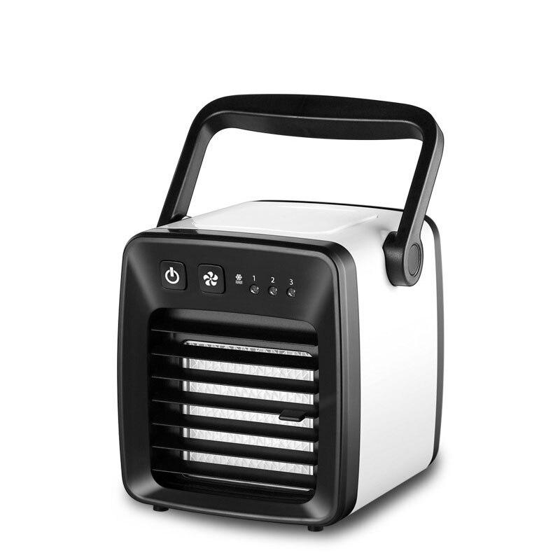 Mini ventilateur de climatiseur Portable pour bureau bureau refroidisseur d'air ventilateur réglage à trois vitesses 350 ML réservoir d'eau