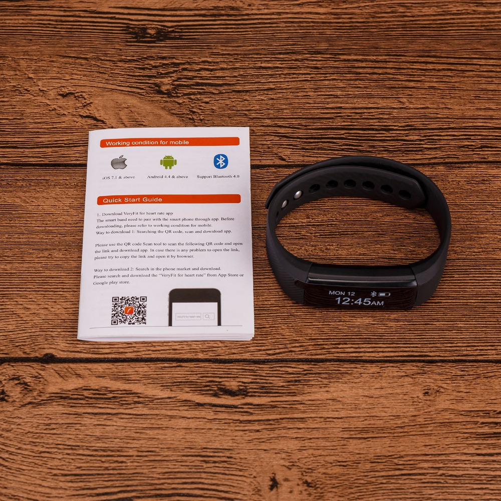 ID115 Smart Bracelet Fitness Tracker Step Counter Activity Monitor Band  Alarm Clock Vibration Wristband for IOS Android phone-in Smart Wristbands  from