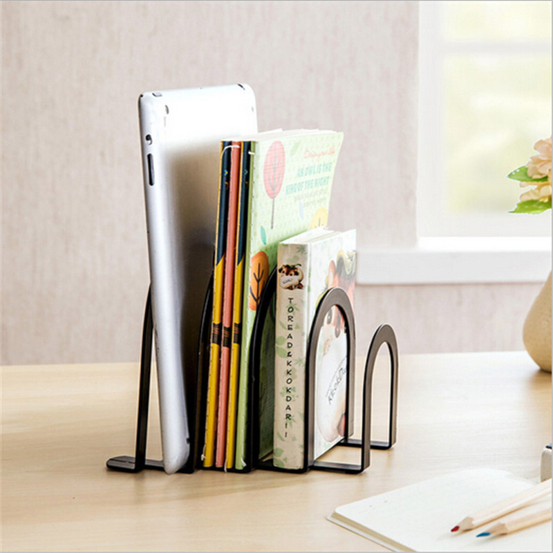 4 Layers Kitchen Rack Durable Heavy Metal Book Shelf Save E Office School Stationery Student Helper Home Decoration