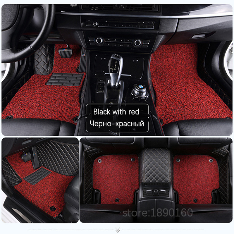 SUZUKI SWIFT 10 on BLACK /& BLUE TRIM CAR FLOOR MATS
